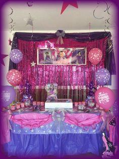 Princess Popstar party!!!!