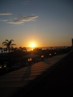 A perfect beach sunset. Coronado, CA