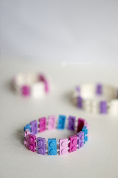 DIY LEGO Bracelets — #MyBrilliantIdea #CleverGirls -- How cute is this!