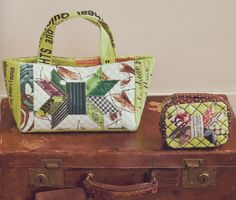 """Bag from Suzuko Koseki's new book """"Color Couture"""""""