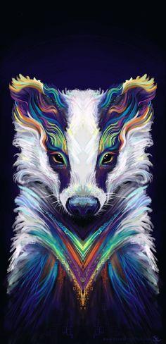Breezy Badger by faith303 on DeviantArt