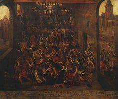 The Slaughter of the Protestants at Amboise  c.1560-1600