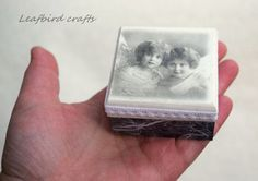 Decoupage mini box Angels wooden box Accessories by Leafbirdcrafts Decorative Accessories, Decorative Boxes, Tooth Box, Decoupage Box, First Tooth, Altered Boxes, Wooden Boxes, Jewelry Box, Christmas Gifts
