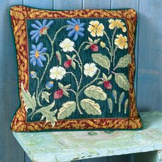 Maytime by Candace Bahouth, Ehrman wools, http://www.ehrmantapestry.com/Products/Maytime__MAY.aspx#.UUOg2FeZFLo