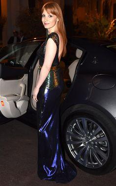 Jessica Chastain - Petite celebrity style & fashion icon
