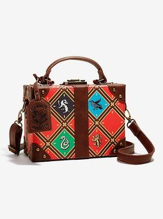 Harry Potter Quidditch Trunk Crossbody Bag - BoxLunch Exclusive, , hi-res