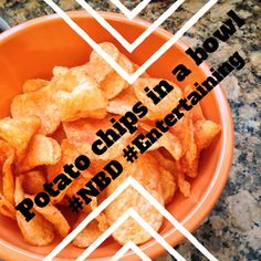 Have #guests? Need to whip up a #snack? WHAT THE FUCK?! You can just put potato chips in a goddamned bowl.