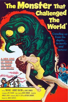 The Monster that Challenged the World - Film (1957) - SensCritique
