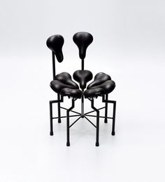Design chair made of... bycicle seats? :-O