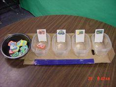 Autism teaching ideas. #teacch #tasks Repinned by AutismClassroom.com Follow us at http://www.pinterest.com/autismclassroom/