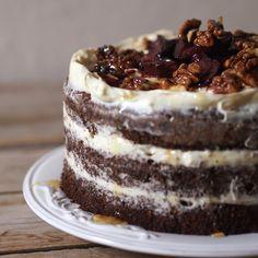 Sweet Cakes, Tiramisu, Gluten Free, Chocolate, Cooking, Ethnic Recipes, Food, Poppy, Glutenfree