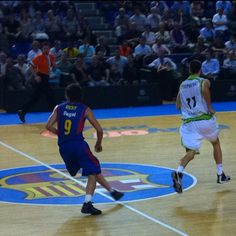 Ricky Rubio in action, 2011