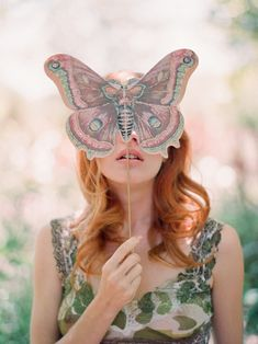 .Girly things. This as a mask??!! YES!
