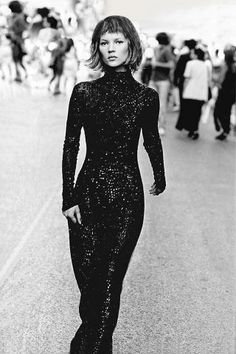 In honor of the designer's 40th anniversary here are his best fashion moments in BAZAAR: 1994, Kate Moss.