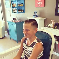 slick haircut with a quiff Boy Hairstyles, Haircuts, Short Hair Cuts, Short Hair Styles, Latest Pics, Cute Boys, Almond, Cookies, Kids