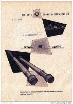 Original-Werbung/ Anzeige 1957 - KLÖCKNER GEORGSMARIENWERKE OSNABRÜCK - ca. 115…