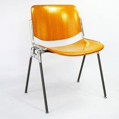DSC 106 Dinner Chair by Giancarlo Piretti for Castelli