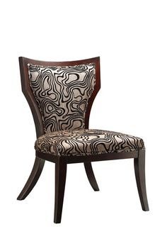 Glamour House Funky Swirl Accent Chair