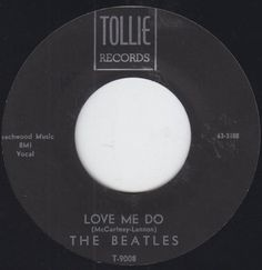 The-Beatles-45-Love-Me-Do-P-S-I-Love-You-Rock-1964-Tollie-Records-T-9008