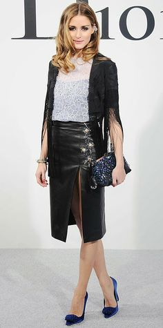 Olivia Palermo at Christian Dior Cruise 2015 Show