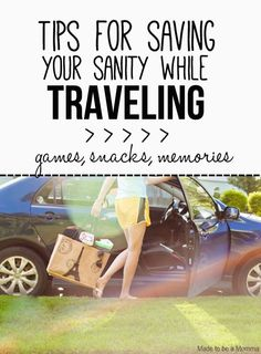 Save your sanity while you take that long summer road trip with these games, snacks, and more from #aaa. #travel #summer