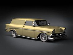 1956 Sedan Delivery Custom...Brought to you by #House of #Insurance #Eugene #Oregon Insurance for #cars old and new.