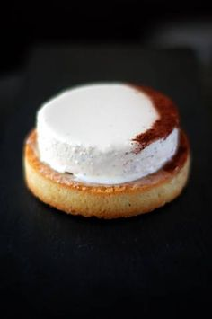 Tarte infiniment vanille (P. Hermé)