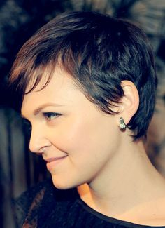 Ginnifer Goodwin Short Hair Side View
