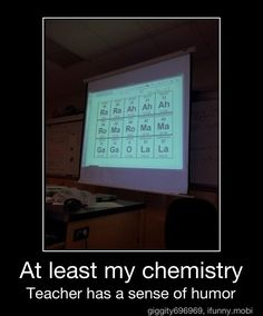 Chemistry...wish it was this fun when i was in school