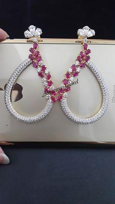 Ruby Earrings, Tassel Earrings, Diamond Jewellery, Sterling Silver Jewelry, Bali, Jewelery, Jewelry Design, Facebook, My Favorite Things