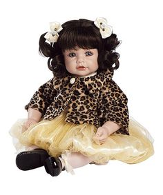 Pearls & Curls Toddler 20'' Doll by Adora $49.99