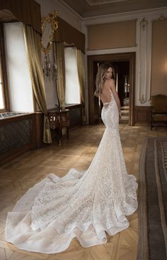 Bridal Musings Wedding Dress Collection | Bridal Musings Wedding Blog 19. This train!