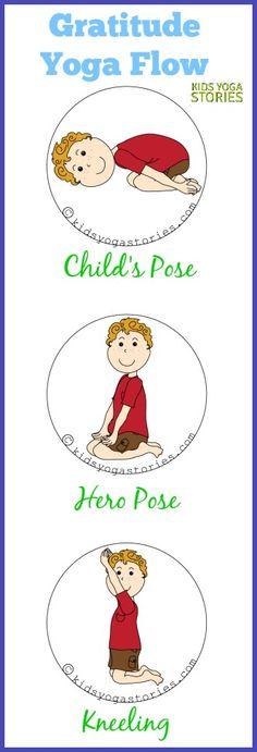 Gratitude Yoga Flow   Kids Yoga Stories