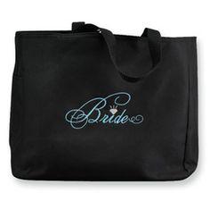 Bride Diamond Tote Bag