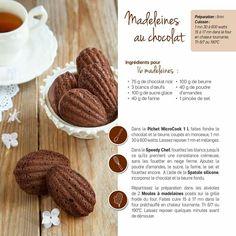 Tupperware - Madeleines au chocolat