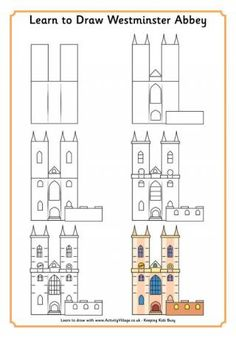 Learn to Draw Westminster Abbey