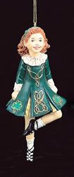 Irish dancer ornament X
