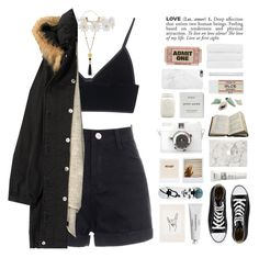 """""""UP&UP"""" by wintuhr ❤ liked on Polyvore featuring T By Alexander Wang, Humble Chic, Humör, Converse, Byredo, Urban Outfitters, NYX, Agent 18, Native Union and Christy"""