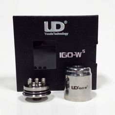 http://www.whichecigarette.com/general-ecigarette-info/types-atomizers-coil-builds-part-ii/ #whichecigarette   UD IGO-W5 $19.99 Full Stainless Steel 22mm Diameter Triple Post