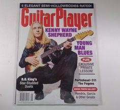 Guitar Player Magazine Kenny Wayne Shepherd January 1998