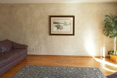 BEFORE: Gas Fireplace Installation