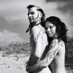 Steve and Jenny (Love this, shows their love, and true spirit)