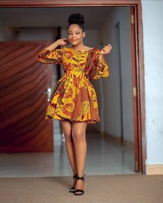 Raglan Sleeves On Micro Flare Gown Unique Ankara Styles, Ankara Gown Styles, Ankara Gowns, Ankara Dress, African Dresses For Women, African Attire, African Fashion Dresses, Fashion Outfits, Ankara Stil