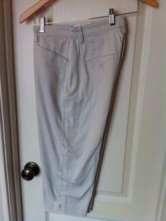 Lee Womens Capris Size 6 Medium Khaki 4 Pockets