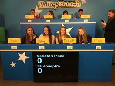 Our reach for the top team!