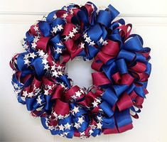 Patriotic Inspiration | Effortlessly create beautiful wreaths and bows using The Ornamator™!