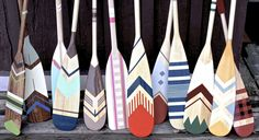 These Paddles!!!! Nautical paddles