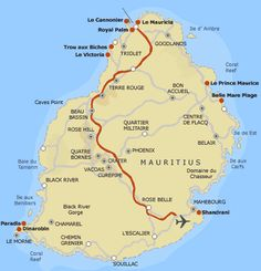 83 Best Mauritius - maps images   Continents, Mauritius island ...