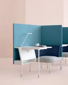 Public Focus Cafe Table. Dale a tu espacio de trabajo todo lo necesario para que sea el mejor! #MoberTeAyuda