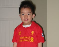 Babies in kits: 5 - Liverpool FC